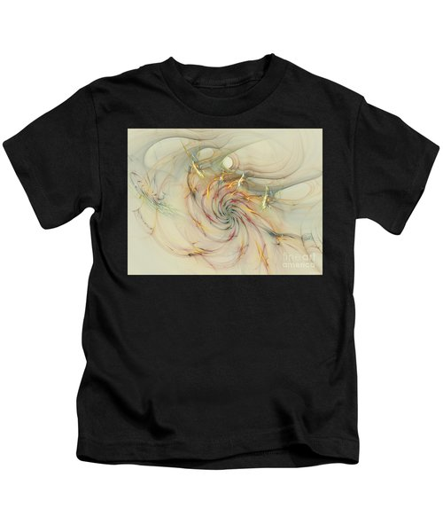 Marble Spiral Colors Kids T-Shirt