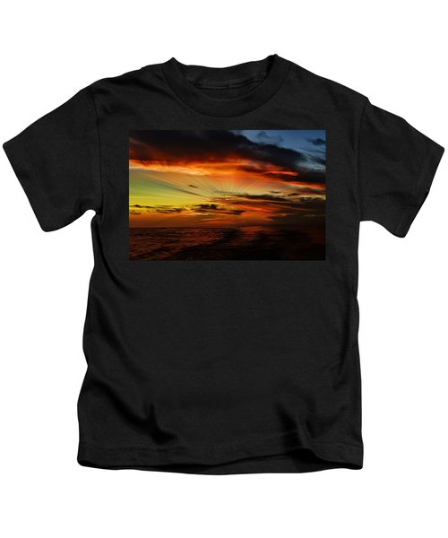 Marco Sunset Rays Kids T-Shirt