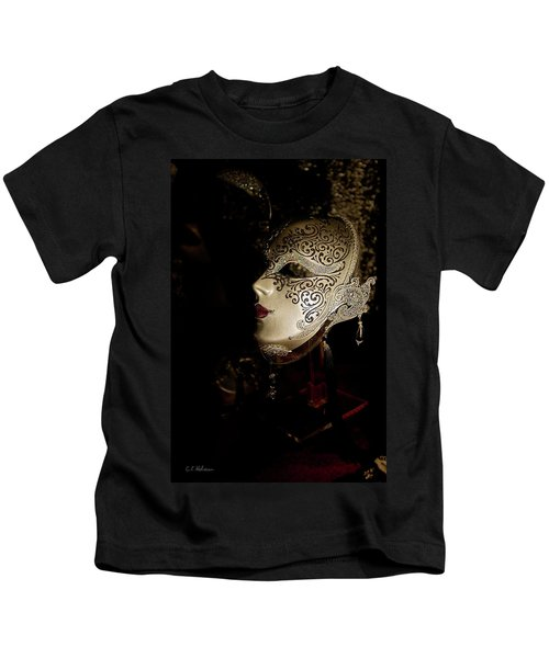 Mardi Gras Mask Kids T-Shirt