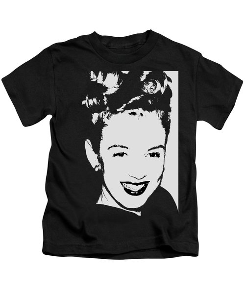 Marilyn Kids T-Shirt by Joann Vitali