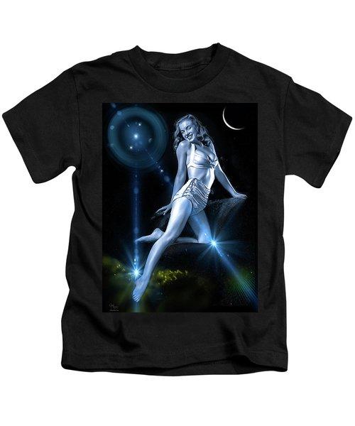 Marilyn Monroe - A Star Was Born Kids T-Shirt