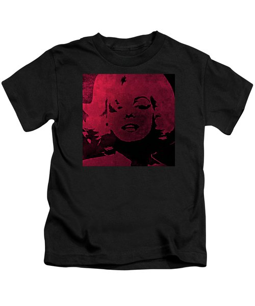 Marilyn Monroe Kids T-Shirt by George Randolph Miller