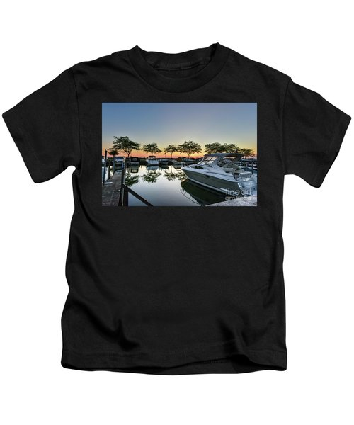 Marina Morning Kids T-Shirt