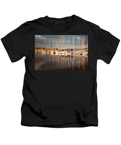 Marina Sunset 6 Kids T-Shirt