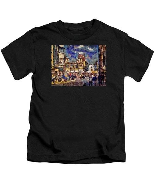 Market Square Monday Kids T-Shirt