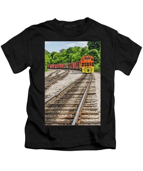 Marquette Rail Carrier Kids T-Shirt