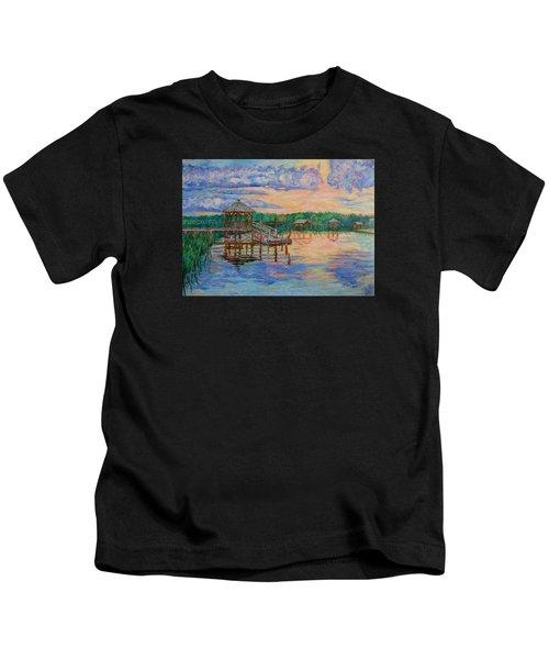 Marsh View At Pawleys Island Kids T-Shirt