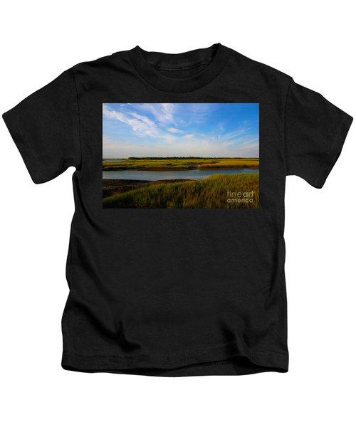 Marshland Charleston South Carolina Kids T-Shirt