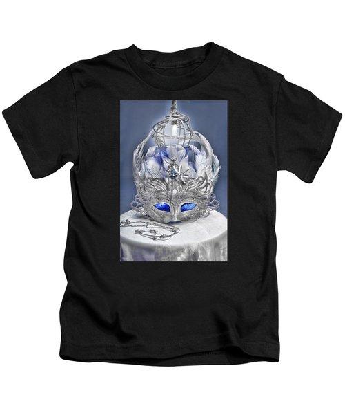 Mask Still Life Blue Kids T-Shirt