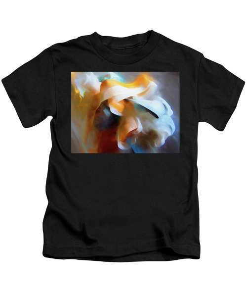 Masking Tape And Paint Composition Kids T-Shirt