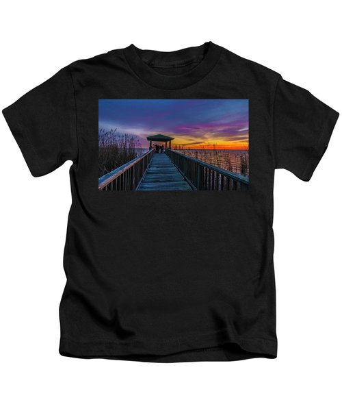 Mattamuskeet Lake Kids T-Shirt