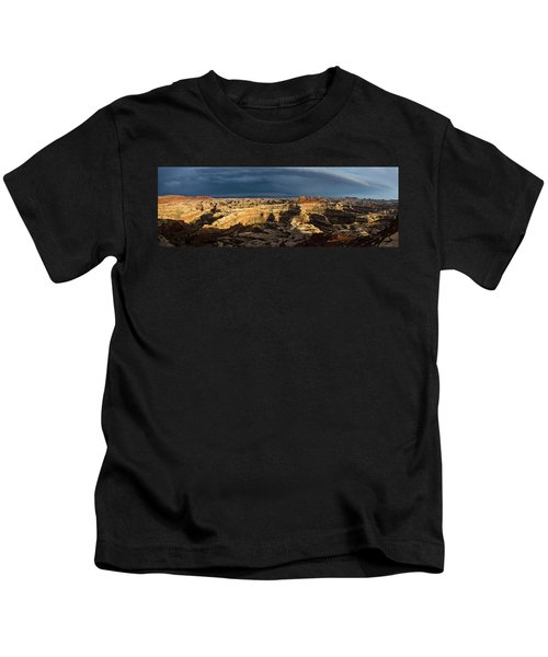 Maze Panorama Kids T-Shirt