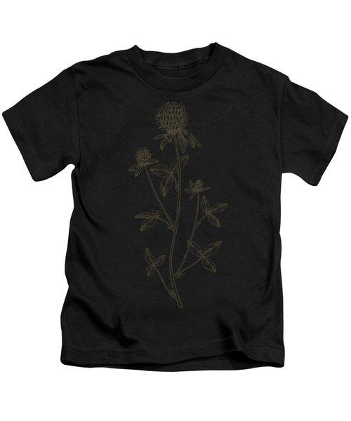 Medicinal Flower Clover Kids T-Shirt