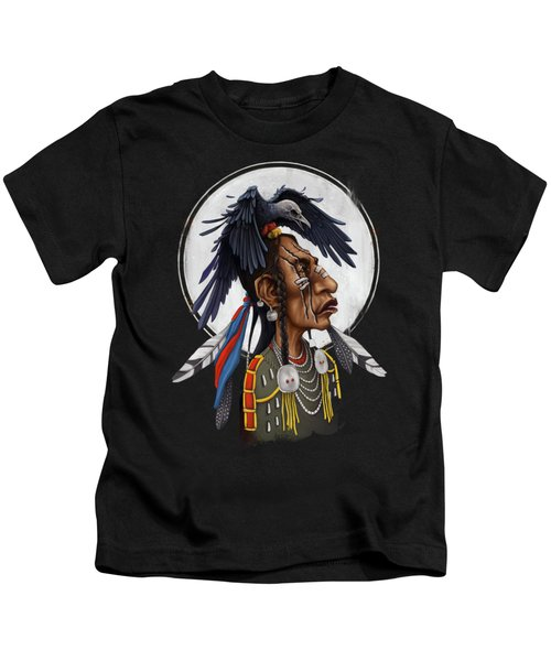 Medicine Crow Kids T-Shirt