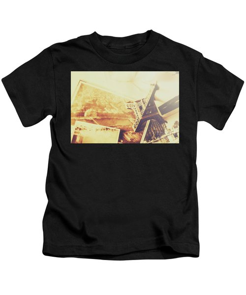 Memories And Mementoes Of Travelling France Kids T-Shirt
