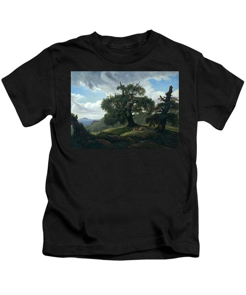 Memory Of A Wooded Island In The Baltic Sea Kids T-Shirt