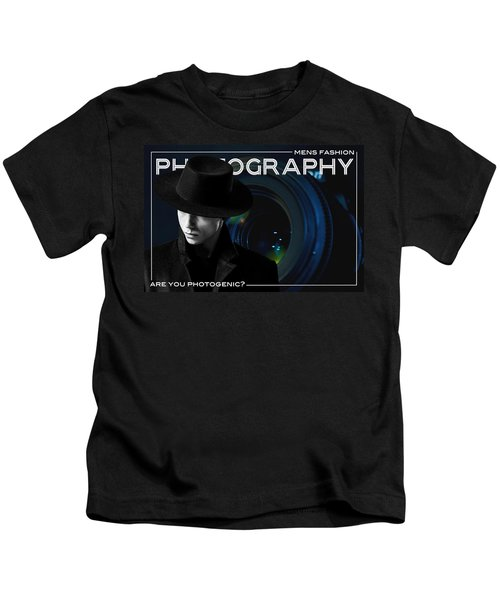 Mens Fashion Photography Are You Photogenic Kids T-Shirt