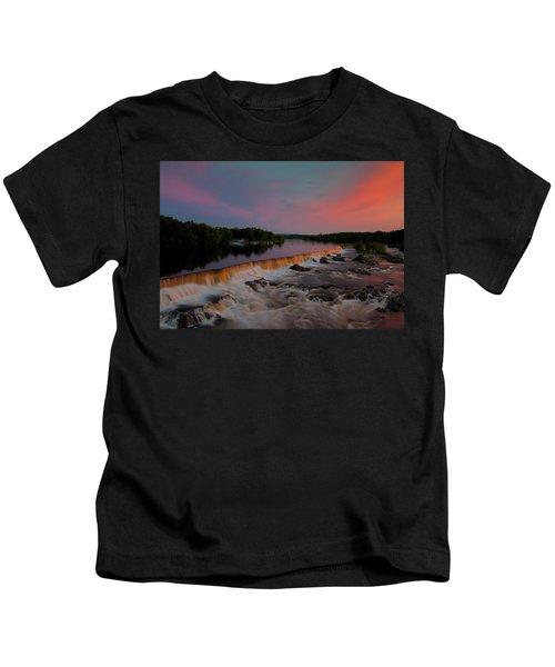 Merrimack River Falls Kids T-Shirt