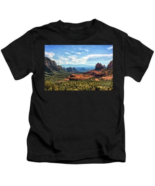 Merry Go Round Arch, Sedona, Arizona Kids T-Shirt