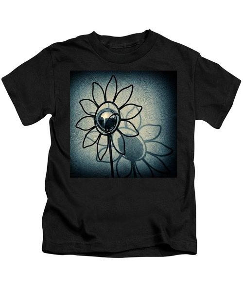Metal Flower Kids T-Shirt