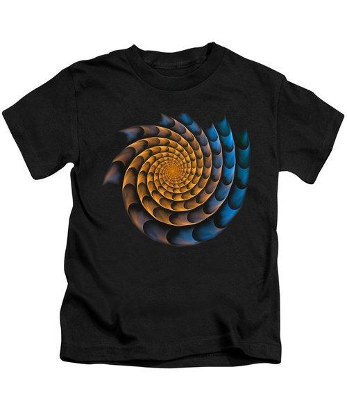 Metal Spiral Kids T-Shirt