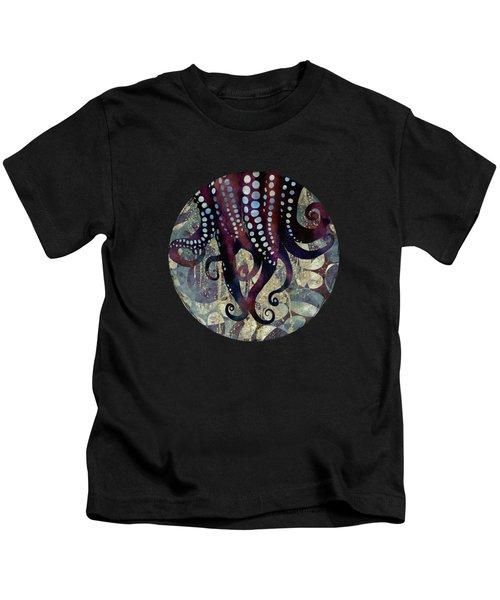 Metallic Ocean II Kids T-Shirt