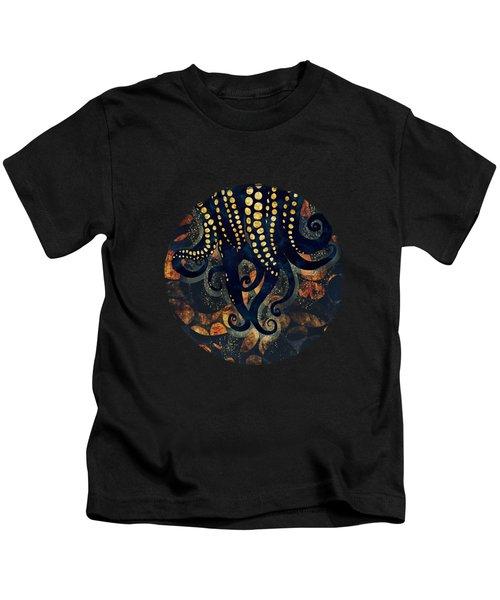 Metallic Ocean Kids T-Shirt