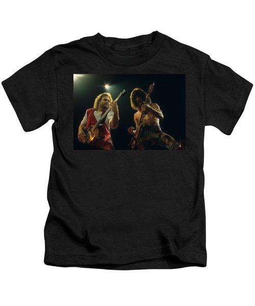 Michael And Eddie Kids T-Shirt