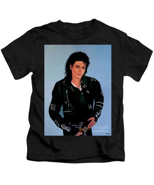 Michael Jackson Bad Kids T-Shirt by Paul Meijering