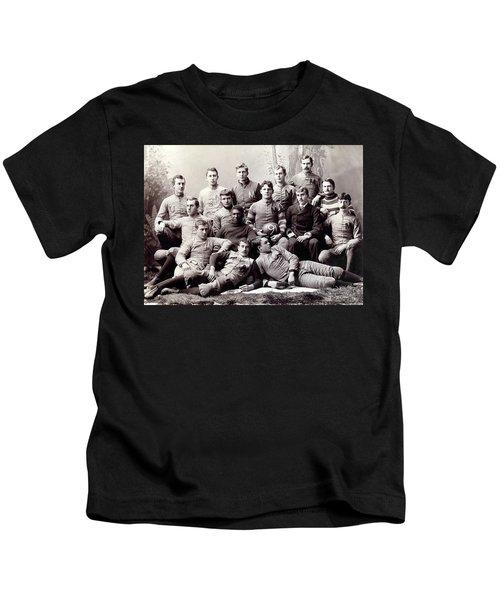 Michigan Wolverine Football Heritage 1890 Kids T-Shirt