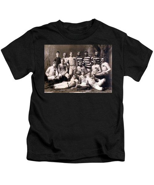 Michigan Wolverines Football Heritage 1888 Kids T-Shirt