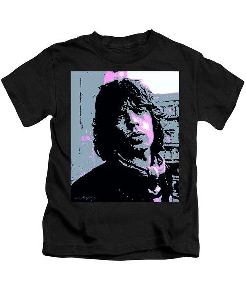 Mick Jagger In London Kids T-Shirt