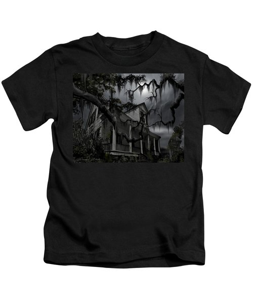 Midnight In The House Kids T-Shirt