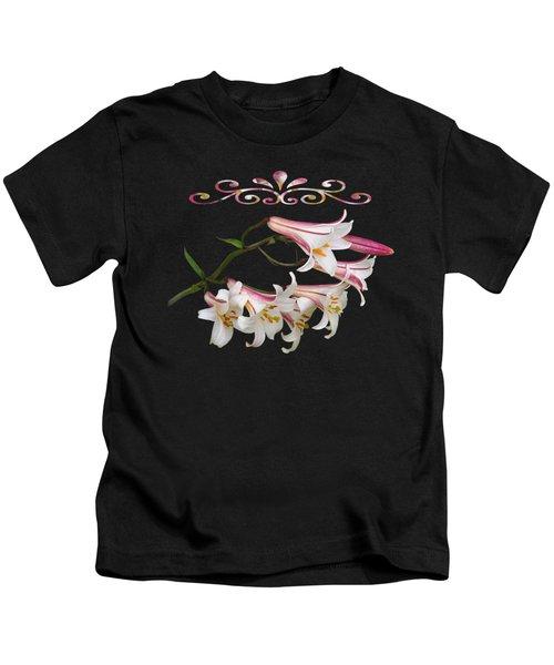 Midnight Radiance Kids T-Shirt by Gill Billington