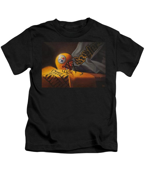 Mini Helmet Commemorative Edition Kids T-Shirt
