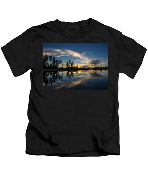 Mirror Sunset Kids T-Shirt