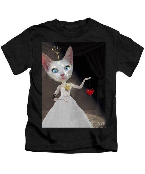 Miss Kitty Kids T-Shirt by Juli Scalzi