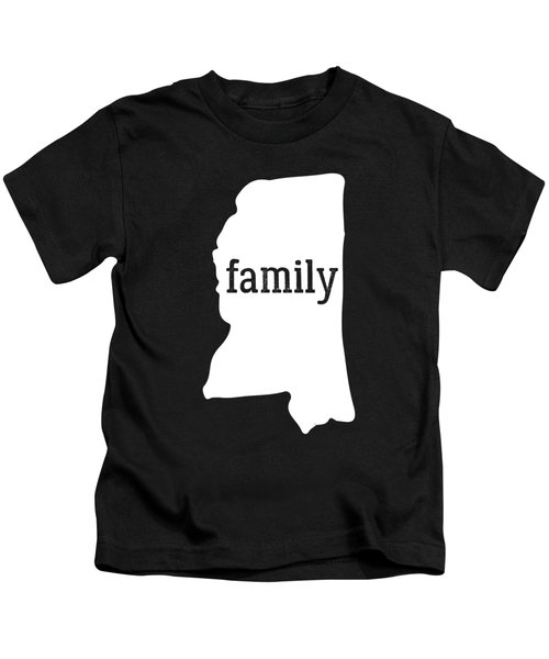 Mississippi Cool Gift Family State Shirt Light Kids T-Shirt