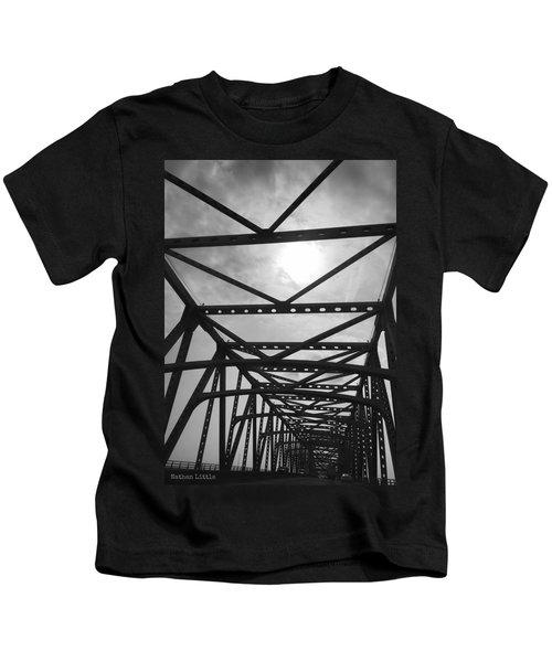 Mississippi River Bridge Kids T-Shirt