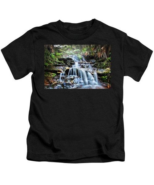 Misty Falls Kids T-Shirt