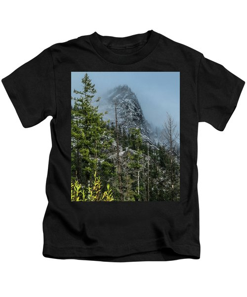 Misty Pinnacle Kids T-Shirt