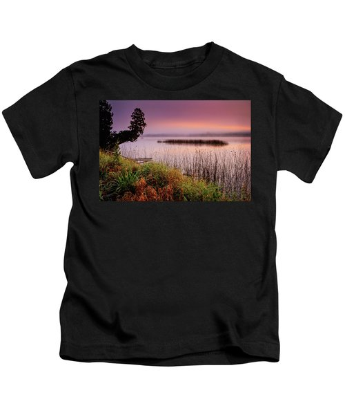 Misty Sunrise Kids T-Shirt