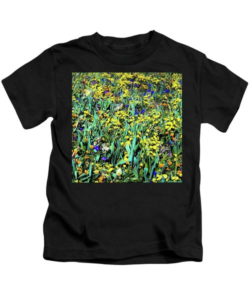 Mixed Flower Garden 515 Kids T-Shirt
