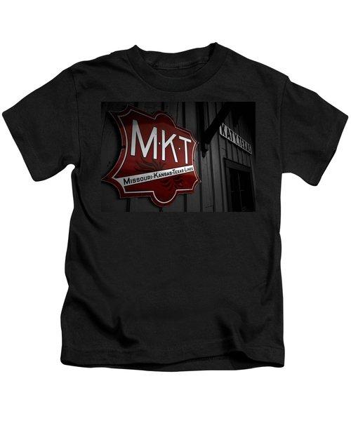 Mkt Railroad Lines Kids T-Shirt