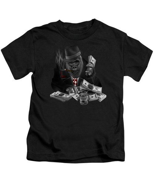 Mob Of The Apes Kids T-Shirt