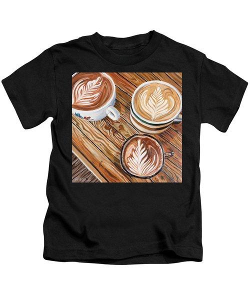 Mocha Trinity Kids T-Shirt
