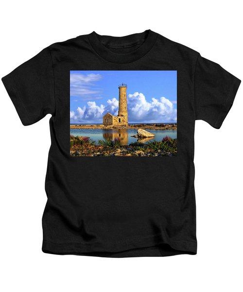 Mohawk Island Lighthouse Kids T-Shirt