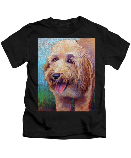 Mojo The Shaggy Dog Kids T-Shirt
