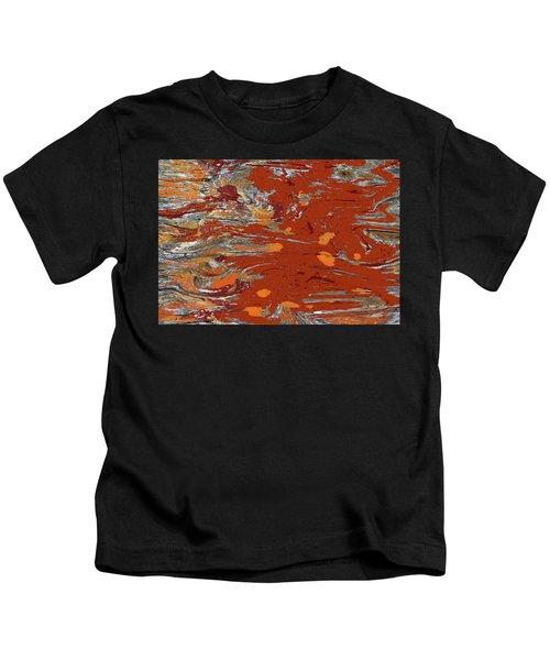 Molten Earth Kids T-Shirt