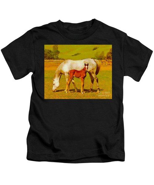 Mom And Me Kids T-Shirt